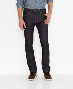 a6f276f486 Blue Black Raw Denim Slim Jeans for Men