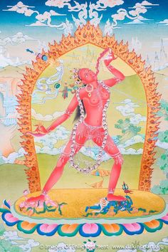 Vam seed sylable dharma et dakinis t Art Tibetan Mandala, Tibetan Art, Tibetan Buddhism, Buddhist Art, Relaxation Pour Dormir, Vajrayana Buddhism, Lotus Art, Esoteric Art, Mandala Drawing