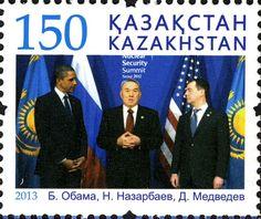 Stamps of Kazakhstan, - Nursultan Nazarbayev - Wikipedia Kazakhstan, Seoul, Cuba, Israel, Stamps, Seals, Stamp, Stamping, Postage Stamps