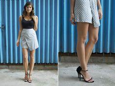 asymmetrical skirt- I will be hitting goodwill tomorrow to make