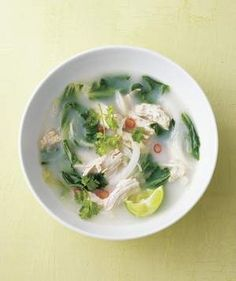 Coconut Chicken Soup With Chilies and Lime   This versatile ingredient can star in dishes both savory and sweet. These recipes showcase its many forms: flakes, water, and milk.