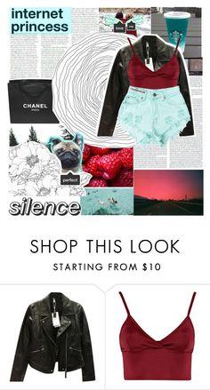 """INTERNET ❤"" by lolalevjesrcna ❤ liked on Polyvore featuring Chanel, NARS Cosmetics, Zara, Lipsy and Levi's"