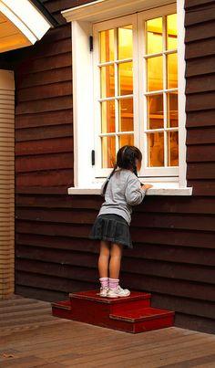 Window of little wonders Japan