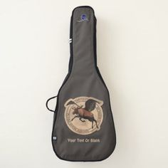 dd2e72c72e0 Flying Moose Aviation Patch Guitar Case - animal gift ideas animals and  pets diy customize