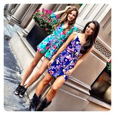 Yk Girls...always Fun & Flirty! Bring On The Rompers & Floral Frocks. Yup, Spring '13 It's On! Boom! #yumikim By Yumi Kim