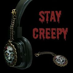 Stay creepy!  http://noddders.com/product/monster-comics-headphones/  #creepy #headphones #subculture #gothic #victorian #retro #vintage #eye #creepy #goth #punk #blackjewelries #gothstyle #gothicfashion #skulls #alternative #collection #collectibles #style #stylish #monster #evil #devil #skeleton #hell #cemetery #graveyard #macabre #noddders