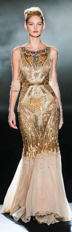 Badgley Mischka Fall Winter 2013 Mercedes-Benz Fashion Week