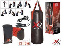 XQ Max Boksset Prof #boksbal #boxbal #boskset #bokshandschoenen #xqmax #bokssetsprof Punching Bag, Boxing Gloves, Saddles, Sacks, Game, Store