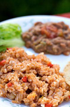 Instant Pot Pressure Cooker Spanish Rice (Vegan, Gluten-free)