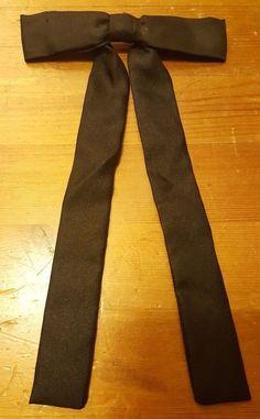 "Vintage, ROYAL, Silk, Black, Kentucky Gambler, Bow Tie (5"" x 8"") #ROYAL #BowTie #Everyday"