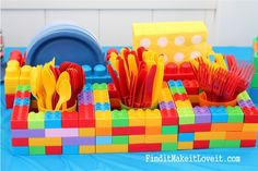 LEGO Birthday Party! July 16, 2013 By: Melanie4 CommentsLEGO Birthday Party!