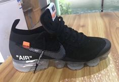 Off-White x Nike Air VaporMax Black Dropping Next Year Sneaker Bar, Sneaker Heads, Kicks Shoes, Nike Air Vapormax, Triple Black, Running Shoes Nike, Nike Shoe, Black Style, Men's Style