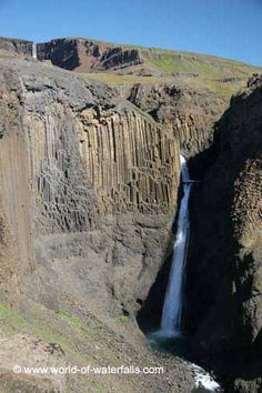 Hengifoss (Egilsstadir, East Region, Iceland)