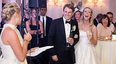 Tips on how to give a wedding toast | Bustld.com | Photo by Stephanie Chesson Photography | Tips by @somethingperf