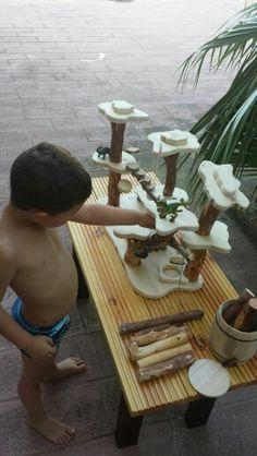 Juguete natural Waldorf - Montessori: El bosque waldorf o mágico, deja que los niños sean los que desarrollen  la historia de su imaginación, sin que nadie les condicione.