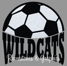 Wildcats Soccer Design Pattern Graphic Design Instant Download EPS SVG DXF  Cutting Files Cameo by RhinestoneandGraphic on Etsy