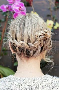 Easy braid bun how-to
