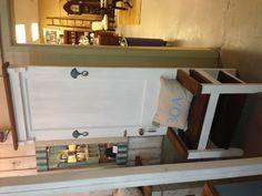 Old door bench!  Love this!