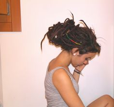#me #dreads #girl #hairstyle #beautiful
