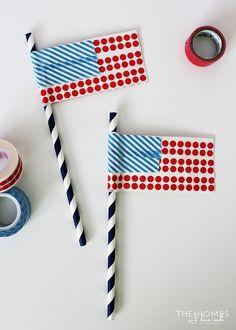 Flag Straws| My Dail