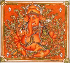 Mural of Lord Ganapathi