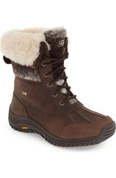UGG® 'Adirondack' Waterproof Insulated Winter Boot (Women) available at #Nordstrom