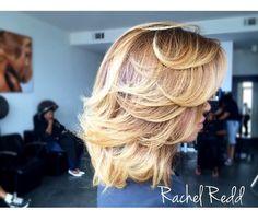 Love this cut and color Source: instagram @Rachel_Redd