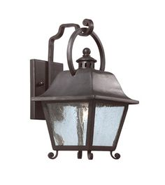 Troy Bristol One Light Wall Lantern in Oil Rubbed Bronze
