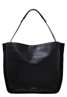 Calvin Klein SHARI - Shopping Bag - black - Zalando.de