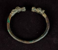 Unknown, Iranian  Torque Bracelet, 950 BCE -800 BCE Iranian Jewelry, made in Luristan Bronze =