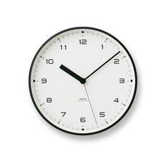 「TAKATA Lemnos online shop」で取り扱う商品「Urban clock / ブラック(LC10-03 BK)」の紹介・購入ページ