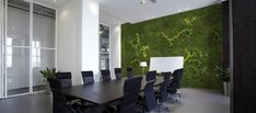 akoestische moswand, sustainable acoustic mosswall