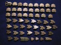 Replica belt pieces set from Gnezdovo Mound C-160
