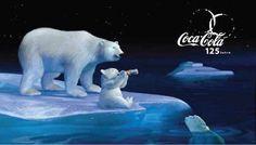Eisbären Werbung Coca Cola