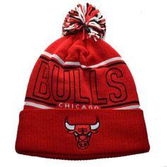 Chicago Bulls NBA Adidas Beanie #Adidas #Bulls