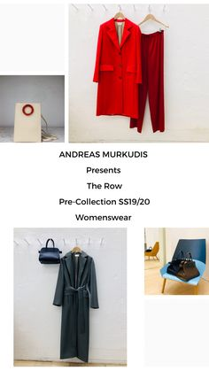 The atmosphere in ANDREAS MURKUDIS captures a freedom and tranquility that sets it apart from the usual, fast-paced retail world. The Row, Duster Coat, Women Wear, Digital, Jackets, Collection, Fashion, Down Jackets, Moda