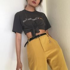 Urban baddies aesthetics and new grunge style Look Fashion, 90s Fashion, Korean Fashion, Fashion Outfits, Womens Fashion, Fashion Clothes, Fashion Shoes, Fashion Accessories, Looks Style