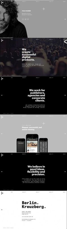 灰階底色 專業形象感 網頁設計   MyDesy 淘靈感