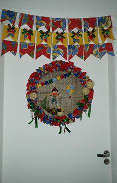 Enfeite de São João - Arte de Andréia Karla Francisco Fonseca, Tapestry, Culture, Regional, Crochet, Dream Catcher, Prints, Home Decor, Ornaments