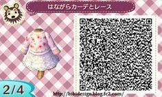Animal crossing new leaf white winter coat qr code Ac New Leaf, Happy Home Designer, Animal Crossing Qr Codes Clothes, Princess Serenity, Blue Fairy, Fairy Dress, Apple Products, Geek Stuff, At Least