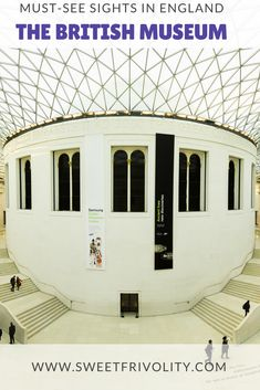 No visit to London is complete without a trip to the British Museum! Read more here: https://www.sweetfrivolity.com/single-post/2017/06/09/10-Essential-London-Travel-Tips #england #london #travel #vacation