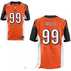 f5cb53834 2017 NFL Draft Cincinnati Bengals #99 Jordan Willis Orange Team Color Stitched  NFL Elite Jersey