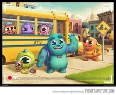 Monsters Inc. Kindergarten