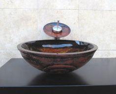 Bathroom Artistic Glass Vessel Vanity Sink Faucet 9003F-combo set - Amazon.com