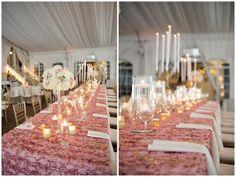 Gorgeous pale pinks & gold Nashville wedding at Riverwood Mansion - floral & event design by Brocade Designs #brocadedesigns / Sephanie Reeder Photography