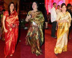 Exclusive Collection of Indian Celebrity Sarees and Designer Blouses Bridal Silk Saree, Soft Silk Sarees, Saree Blouse Patterns, Indian Celebrities, Exclusive Collection, Looking For Women, Blouse Designs, Saris, Beautiful
