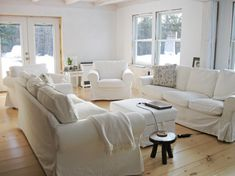 New white slipcover ikea couches ektorp sofa white couches and living rooms - Montaggio divano ikea ...