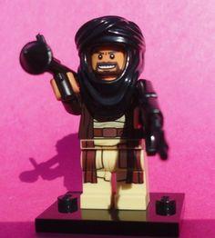 NEW CUSTOM LEGO BATMAN WEAPONS TAN TERRORIST #4 SOLDIER BAD GUY BRICK LEGO WARS #LEG0