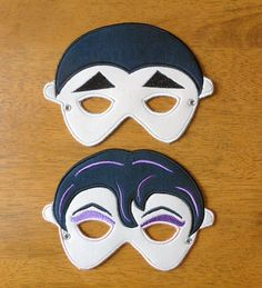 Vampire Mask Design Set for Embroidery machine