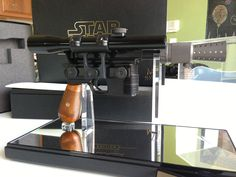 SOLD: MR Master Replicas Han Solo Blaster Elite Edition Dl-44